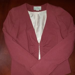 H&M berry blazer - fully lined!